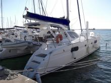 Catana 431 owner's version : In the marina